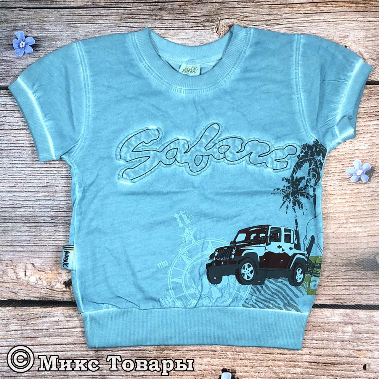 Детская футболка для мальчика Размеры: 1,2,3 года (8055-1)