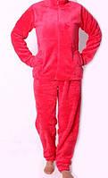 Теплая женская махровая пижама, РАСПРОДАЖА