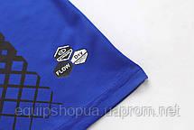 Футбольная форма Europaw 020 черно-синяя , фото 3