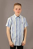 Рубаха мужская Danger Jeans 522 Blue Размеры M L XXL, фото 1