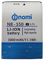 Акумулятор (АКБ, батарея) NB-550 для Nomi i550 Space, 3000 mAh, оригінал
