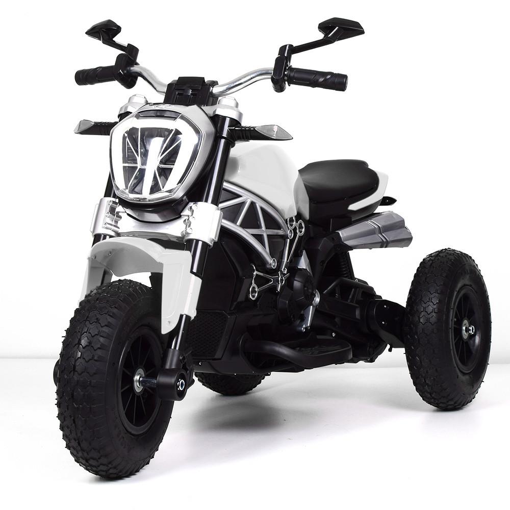 Детский мотоцикл BAMBI M 4008AL-1 белый Гарантия качества Быстрая доставка