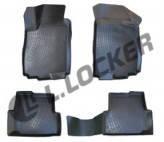 Коврики для салона авто Chevrolet Aveo II 2012- L.Locker Шевроле