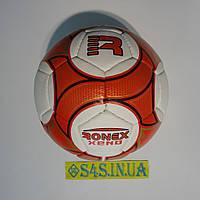 Мяч футбольный Grippy Ronex XENO, бело-красный, р.5 не ламинированный, фото 1