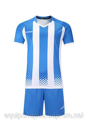 Футбольная форма Europaw 020 голубо-белая , фото 2