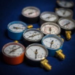 Манометри тиску для газових редукторів