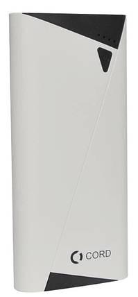 УМБ Power Bank Cord A10 10000mAh Gray Гарантия 12 месяцев, фото 2