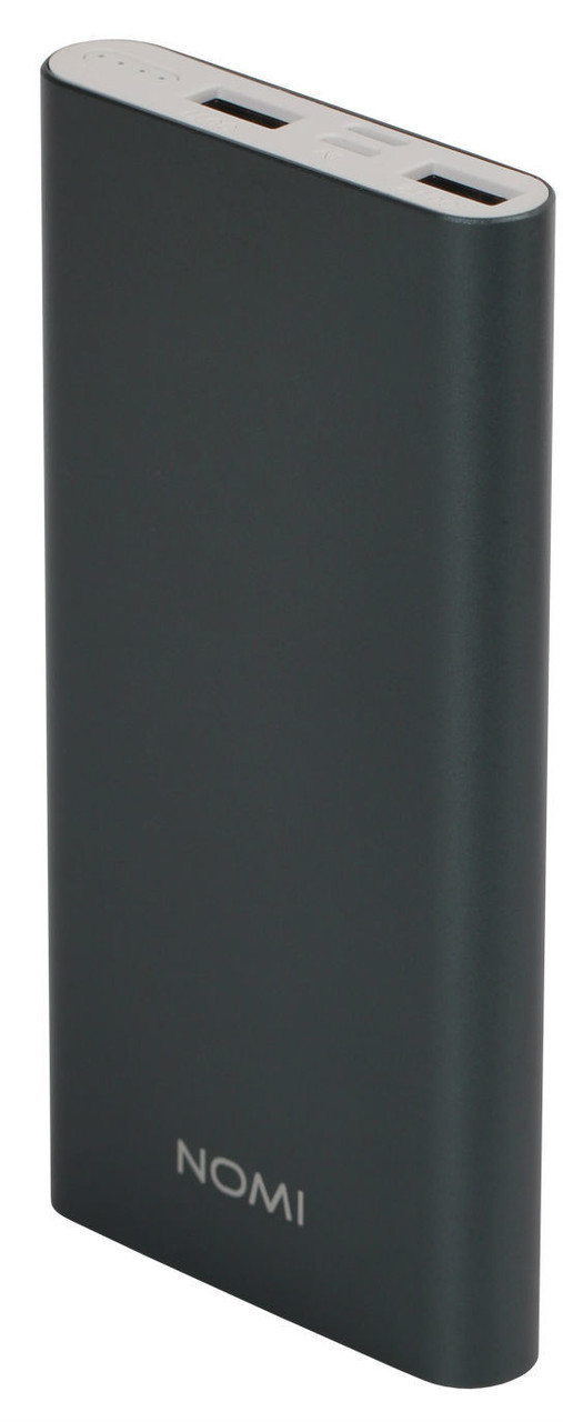 Внешний аккумулятор Power Bank Nomi E100 10000mAh Grey Гарантия 12 месяцев