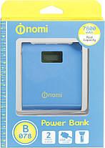 Аккумулятор внешний Power Bank Nomi BO78 7800mAh Гарантия 12 месяцев, фото 3
