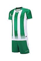 Футбольная форма Europaw 020 зелено-белая , фото 2