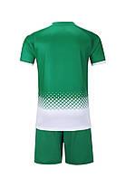 Футбольная форма Europaw 020 зелено-белая , фото 3
