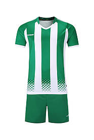 Футбольная форма Europaw 020 зелено-белая