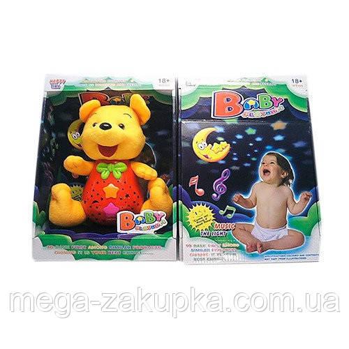 Детский светильник ночник игрушка мишка