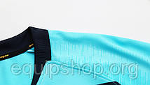 Футбольная форма Europaw 021 бирюзово-т.синяя , фото 2