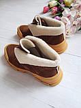 Повседневные демисезонные замшевые ботинки LookLike (разные цвета), фото 8
