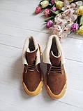 Повседневные демисезонные замшевые ботинки LookLike (разные цвета), фото 7