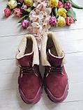 Повседневные демисезонные замшевые ботинки LookLike (разные цвета), фото 9