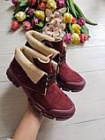 Повседневные демисезонные замшевые ботинки LookLike (разные цвета), фото 3