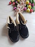 Повседневные демисезонные замшевые ботинки LookLike (разные цвета), фото 5