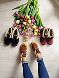 Повседневные демисезонные замшевые ботинки LookLike (разные цвета), фото 10