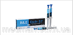 B&E Korea Etch-37 полугель для травления эмали и дентина с фосфорной кислотой (37% H3PO4)