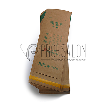 Крафт пакеты 50х170 для стерилизации Медтест для мелких инструментов, для паровой, воздушной, этилен. 100 шт