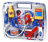 Игровой набор доктора same toy 7735aut синий в кейсе
