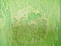 Фактурная штукатурка с отпечатками цветов и листьев, фото 1