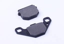 Колодки тормозные передние (дисковый тормоз) - AD50/sepia