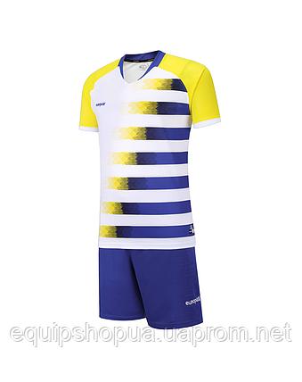 Футбольная форма Europaw 021 сине-желтая , фото 2