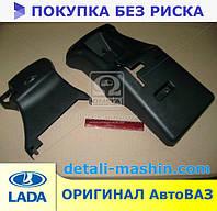 Кожух облицовки руля ВАЗ 2113 2114 2115 комплект 2 части (пр-во Россия) 2114-3403070/72