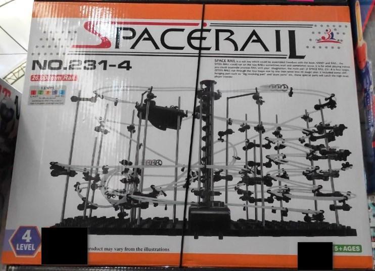 Динамический конструктор Space Rail 231-4 Level - 26 метров