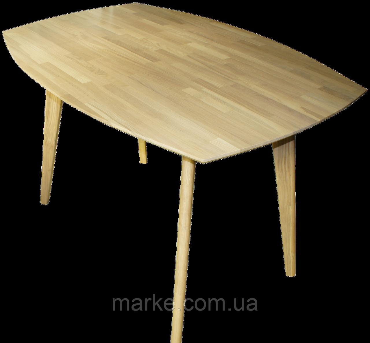 "Нераскладной деревянній стол ""Nordiс R"" 160*80 см"