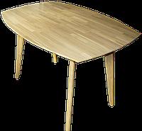 """Нераскладной деревянній стол """"Nordiс R"""" 160*80 см, фото 1"""