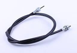 Трос спидометра L-970mm (верх квадрат - внутрення резьба, низ квадрат - под болт) - Suzuki