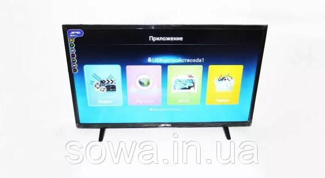 """✔️ Телевизор JPE + Т2 матрица от Sony ● Диагональ 24"""" ● LED HD ● Качество на 5+"""