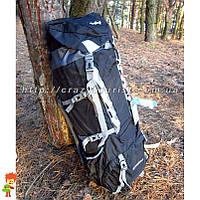 Рюкзак Deyilong Extreme 55+10 L Black туристический + дождевик, фото 1