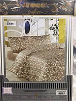 Комплект постельного белья Altinbasak ранфорс печатный Linen  Евро,