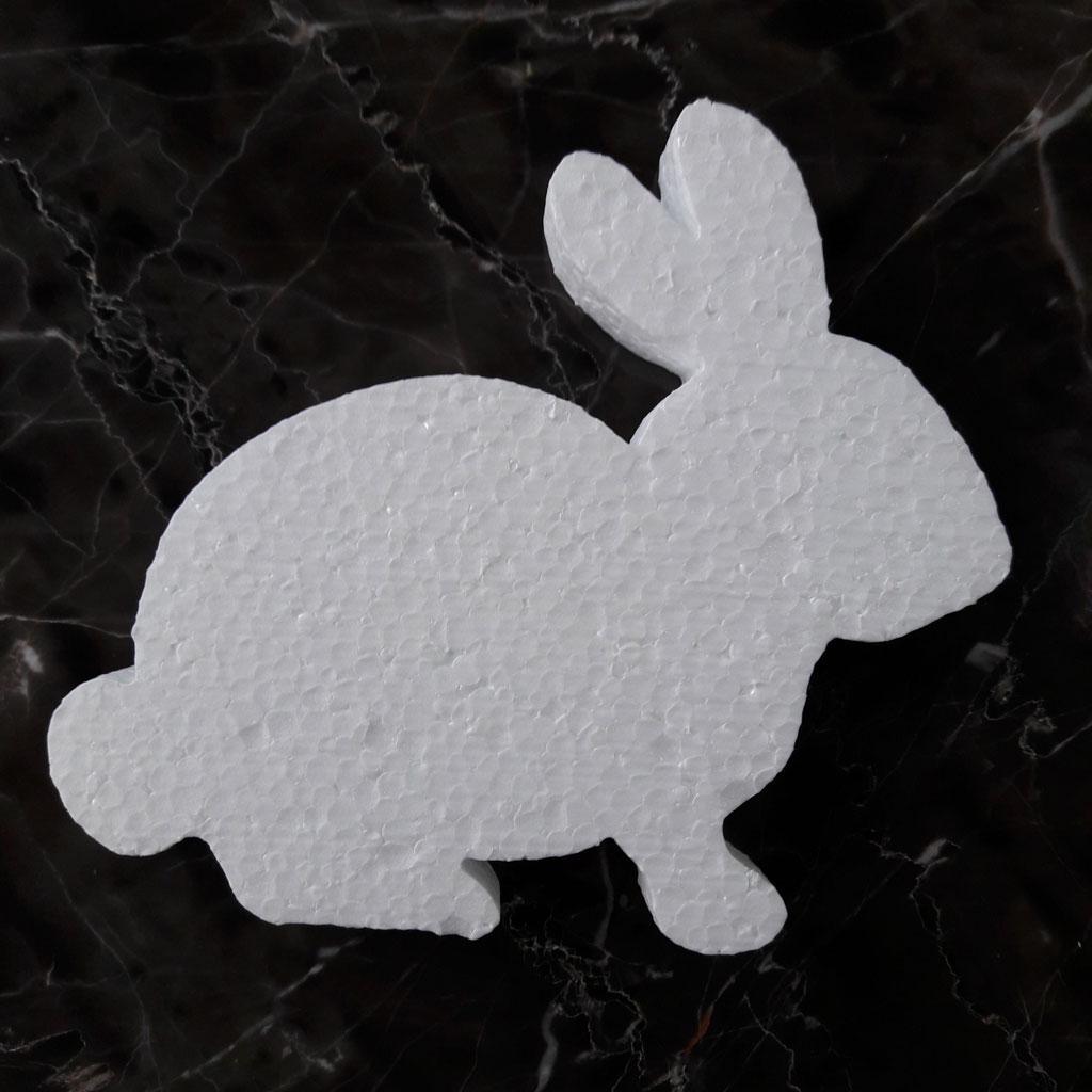 Заготовка из пенопласта кролик
