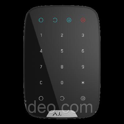 Беспроводная клавиатура  Ajax KeyPad black - черная , фото 2