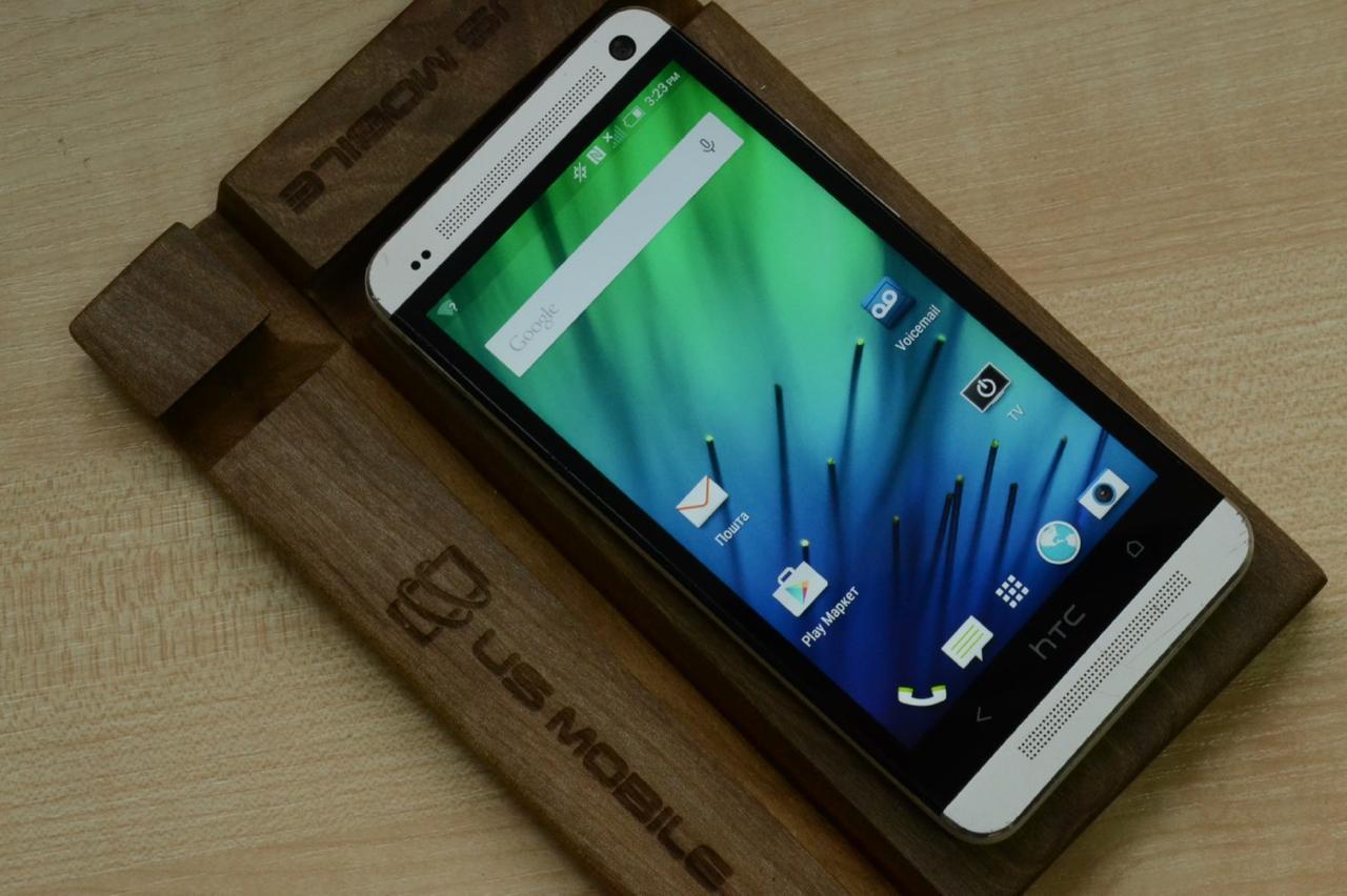 Смартфон HTC One M7 CDMA 32Gb Silver Оригинал!