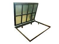 Потайной люк в подвал под плитку, ламинат, паркет (облегчённый) 700х1500 мм