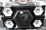 Бумбокс портативний AILIANG UF-1606B-DT колонки USB\Bluetooth\FM-тюнер\Пульт ДУ, фото 8