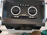 Бумбокс портативний AILIANG UF-1606B-DT колонки USB\Bluetooth\FM-тюнер\Пульт ДУ, фото 4