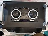 Бумбокс портативний AILIANG UF-1606B-DT колонки USB\Bluetooth\FM-тюнер\Пульт ДУ, фото 3