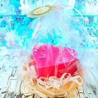 Свеча Валентинка- подарок на 14 февраля