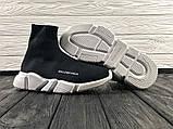 Женские кроссовки Balenciaga Speed Trainer, женские баленчиаги на сетке, фото 7