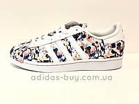 Женские осенние оригинальные кроссовки Adidas Superstar bb0351, фото 1