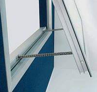 Привод цепной для больших и тяжелых окон, фрамуг, оконная автоматика для проветривания и дымоудаления