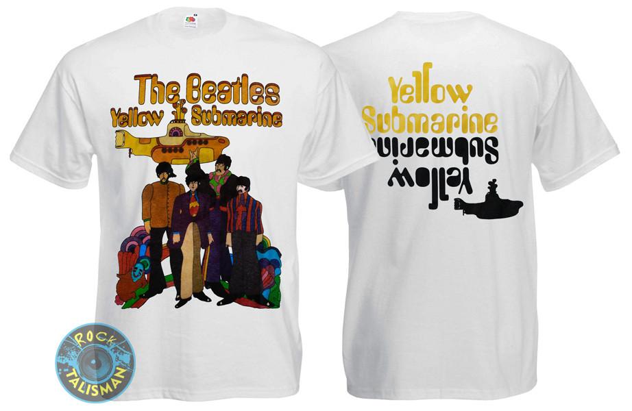 Футболка BEATLES Yellow Submarine